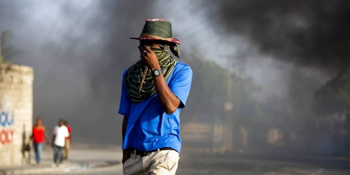 Protestas en Haití provocan que gobierno desista en aumentar precios de combustibles