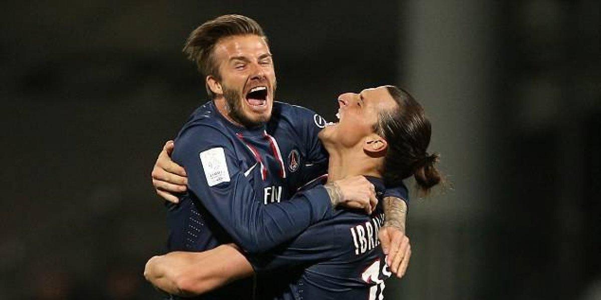 Ibrahimovic tendrá que cumplir la humillante apuesta que perdió con Beckham