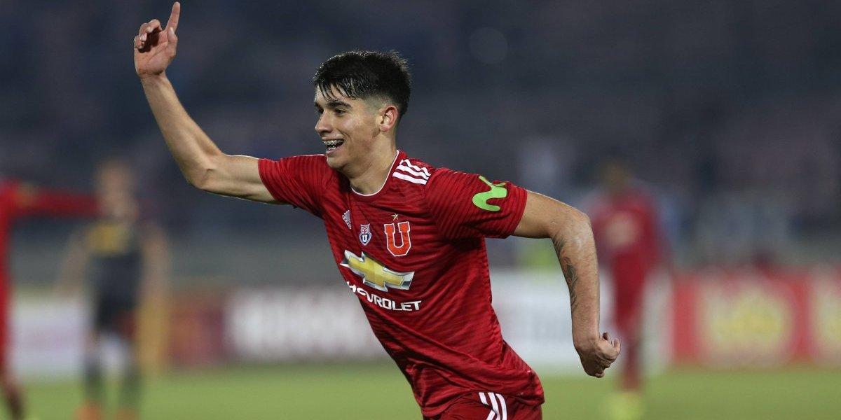 La U de Kudelka siguió su racha ganadora en Copa Chile con doblete de Ángelo Araos