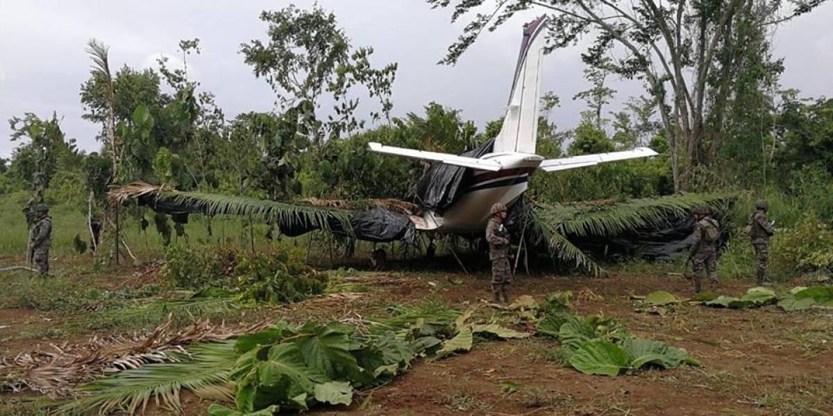 Fiscalía inspecciona aeronave vinculada al narcotráfico