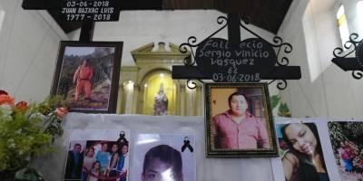 Bomberos Voluntarios desaparecidos por tragedia del volcán de Fuego reciben homenaje.