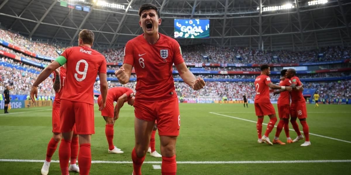 ¡De cabeza a semifinales! Inglaterra superó por lo alto a Suecia
