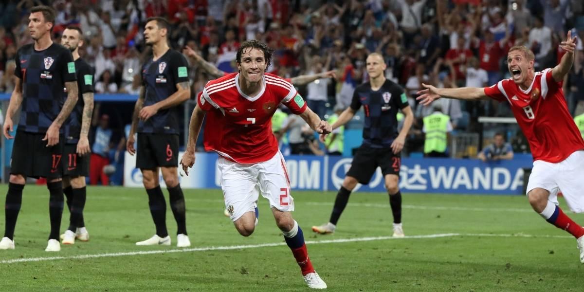 ¡A Rusia lo sacan muerto! Mario Fernandes marca un agónico gol y hay penales