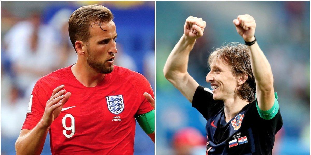 Cuándo y a qué hora juegan Inglaterra y Croacia la semifinal del Mundial de Rusia