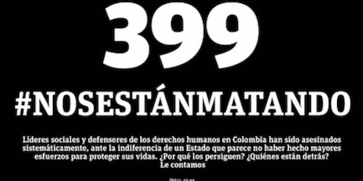 Asesinado cuarto líder social en Ituango en un mes