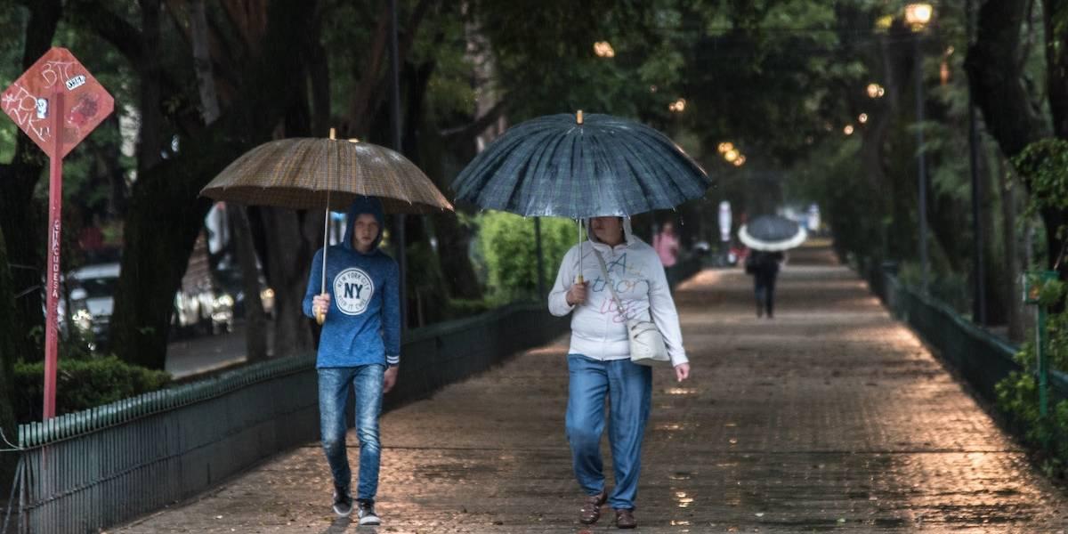 Alerta por lluvias en estas delegaciones de la Ciudad de México