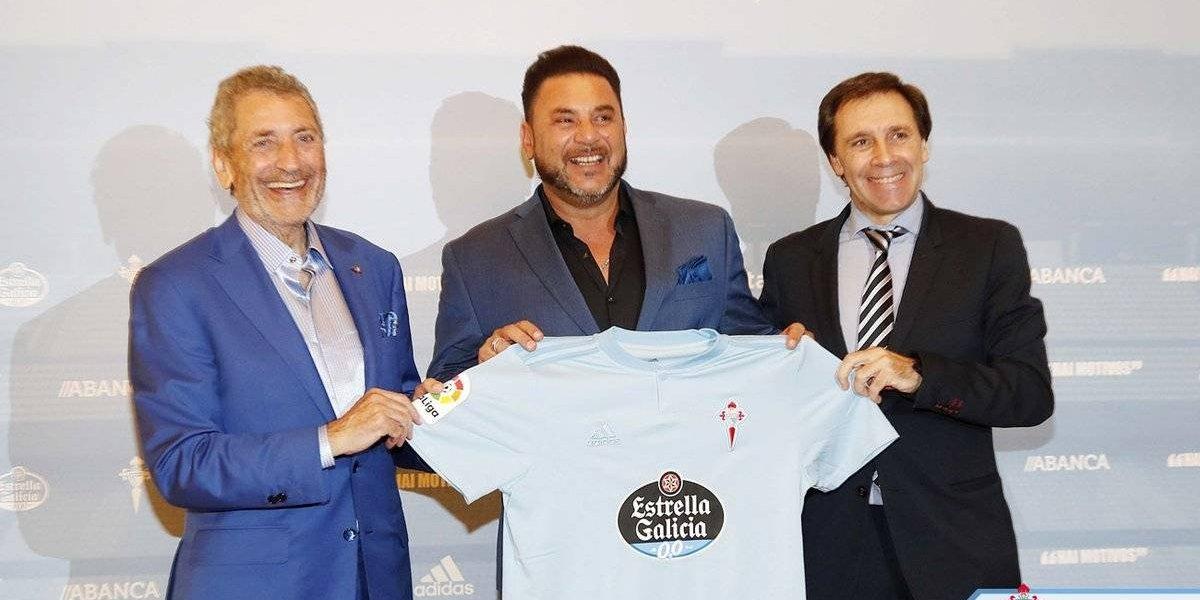Antonio Mohamed es presentado como DT del Celta de Vigo