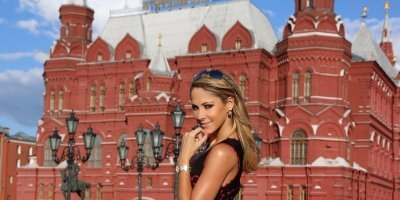 Inés Sainz 'la musa de Rusia'