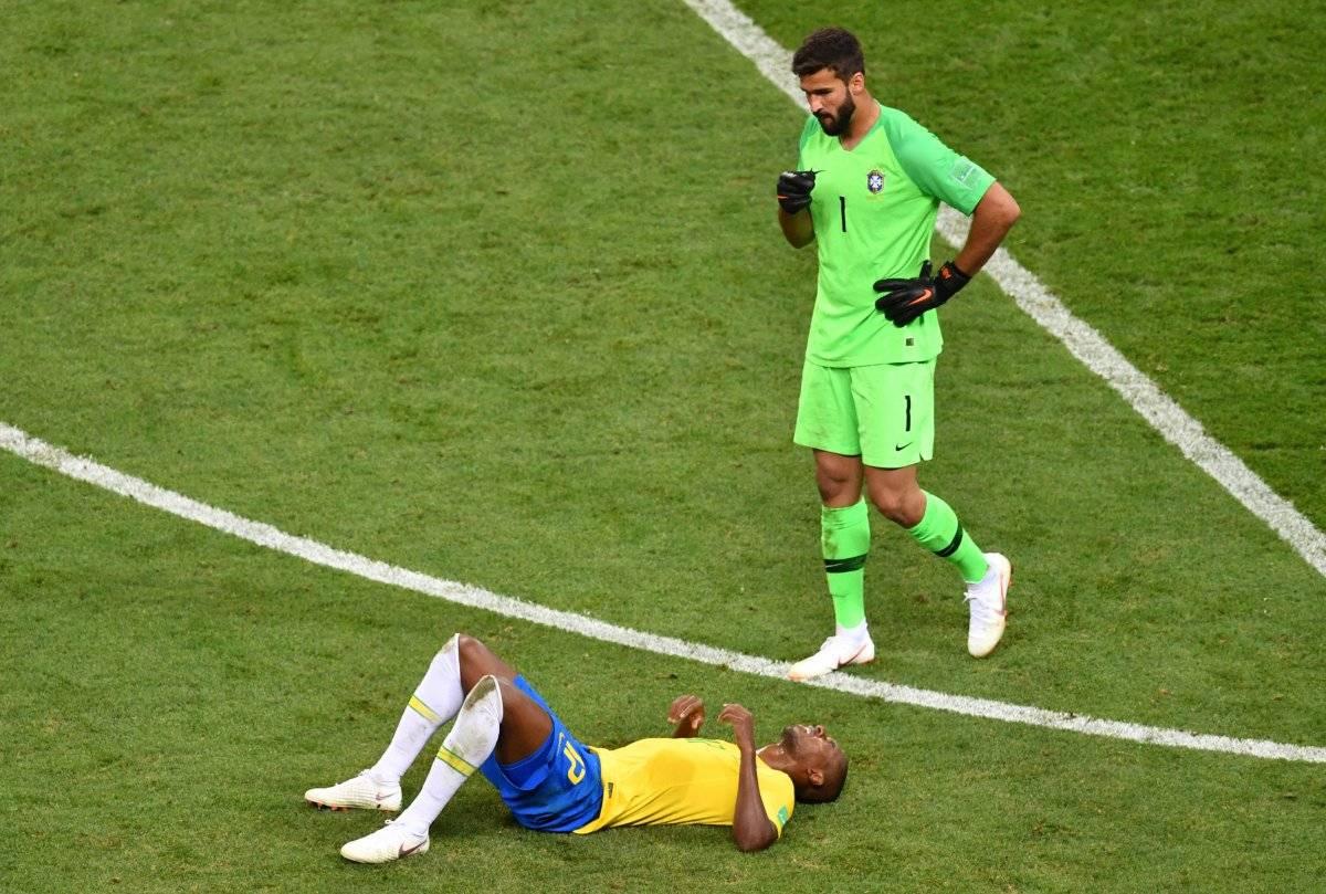 Fernandinho lamentó la eliminación.