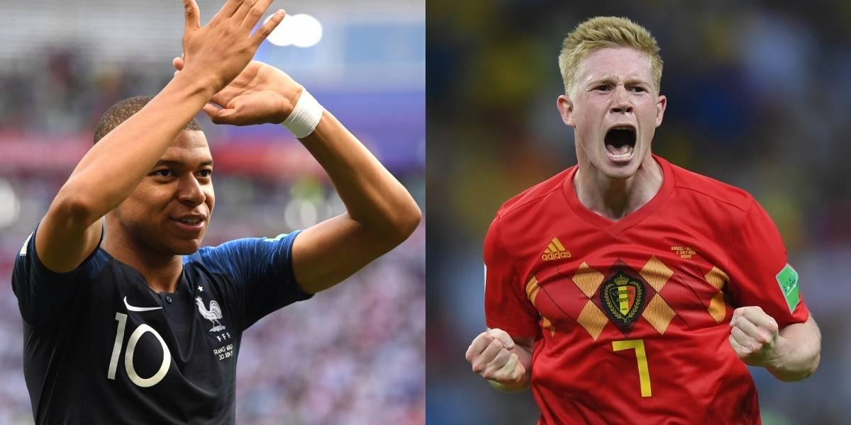 ¿Cuándo y a qué hora juega Francia VS Bélgica por las semifinales del Mundial Rusia 2018?