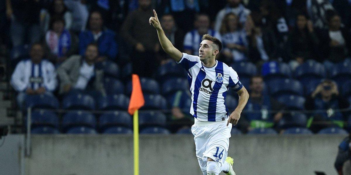 Héctor Herrera en el once ideal de la liga portuguesa