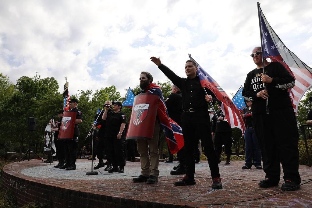 Protesta Neo Nazi en Estados Unidos