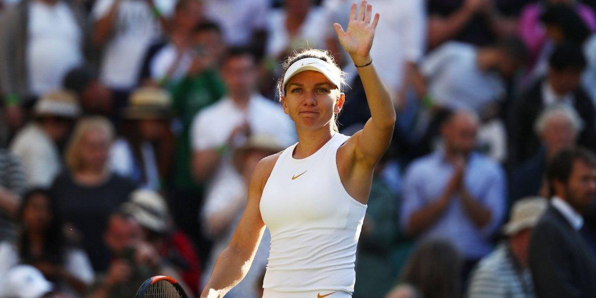 Simona Halep se despide de Wimbledon tras ser eliminada