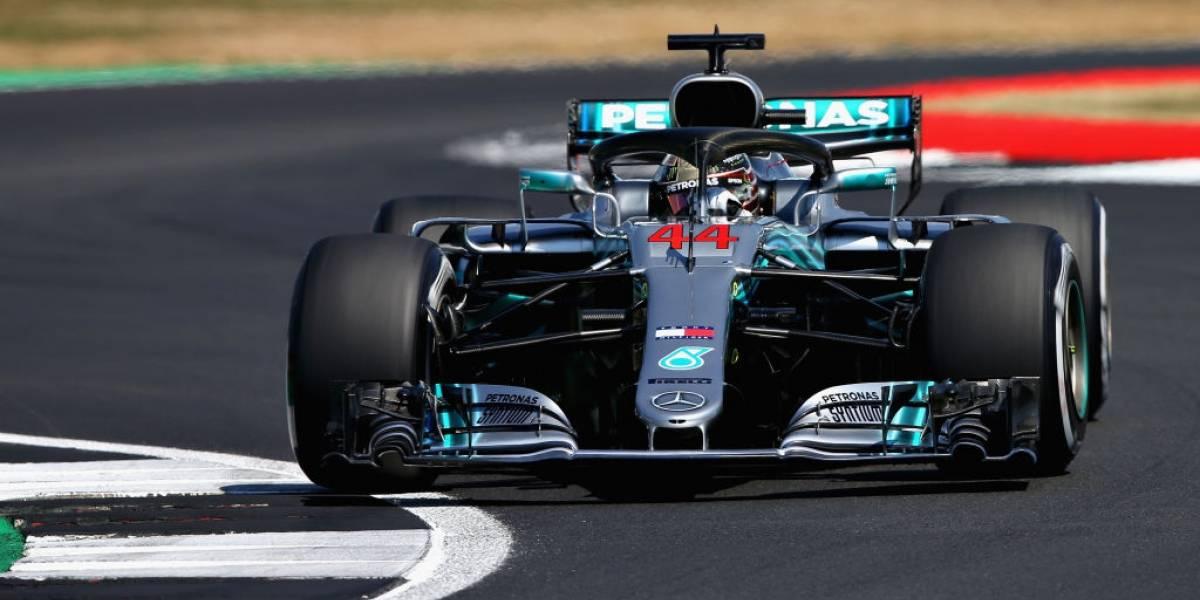 Lewis Hamilton acelera y logra una nueva pole position en el GP de Gran Bretaña