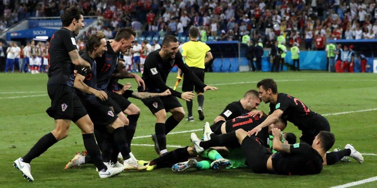 Croacia elimina en penales a Rusia del Mundial