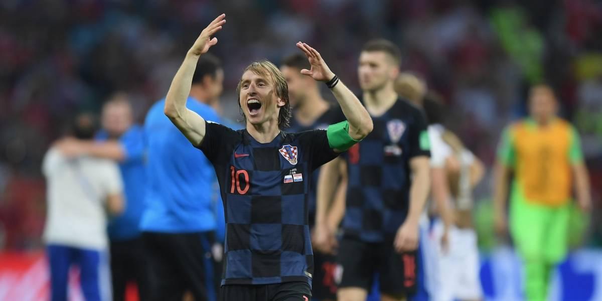 Para Luka Modric el Balón de Oro es insignificante en este momento