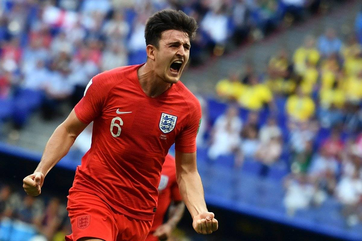 Maguire juega su primer Mundial