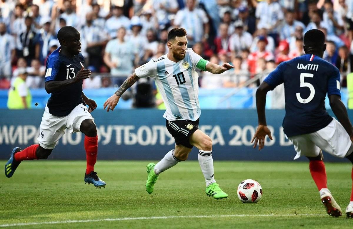 Messi no pesó en el Mundial.
