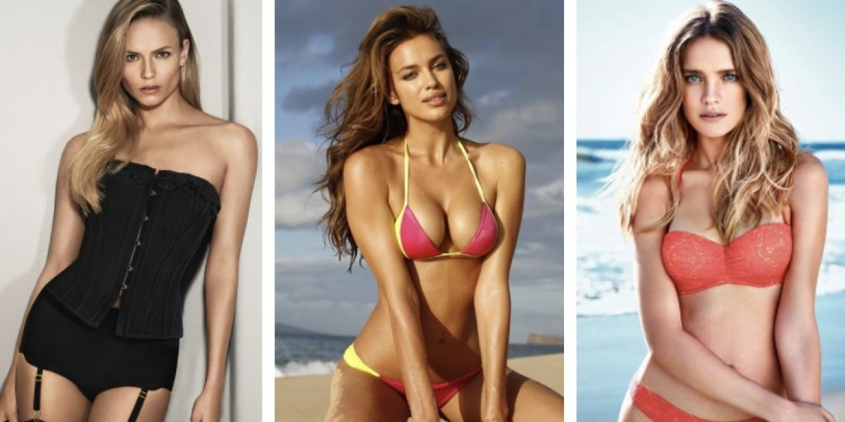 Modelos de Victoria's Secret apoyan a la selección de Rusia en topless