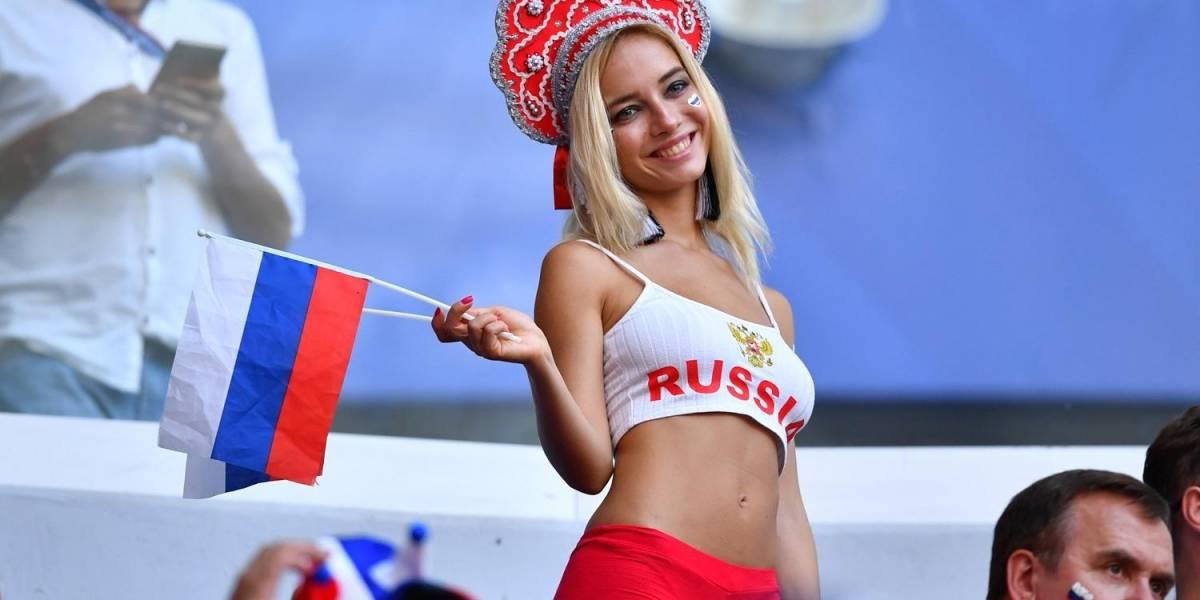"""Esto es lo que hará la """"novia del Mundial"""" si Rusia se corona como el nuevo campeón del mundo"""