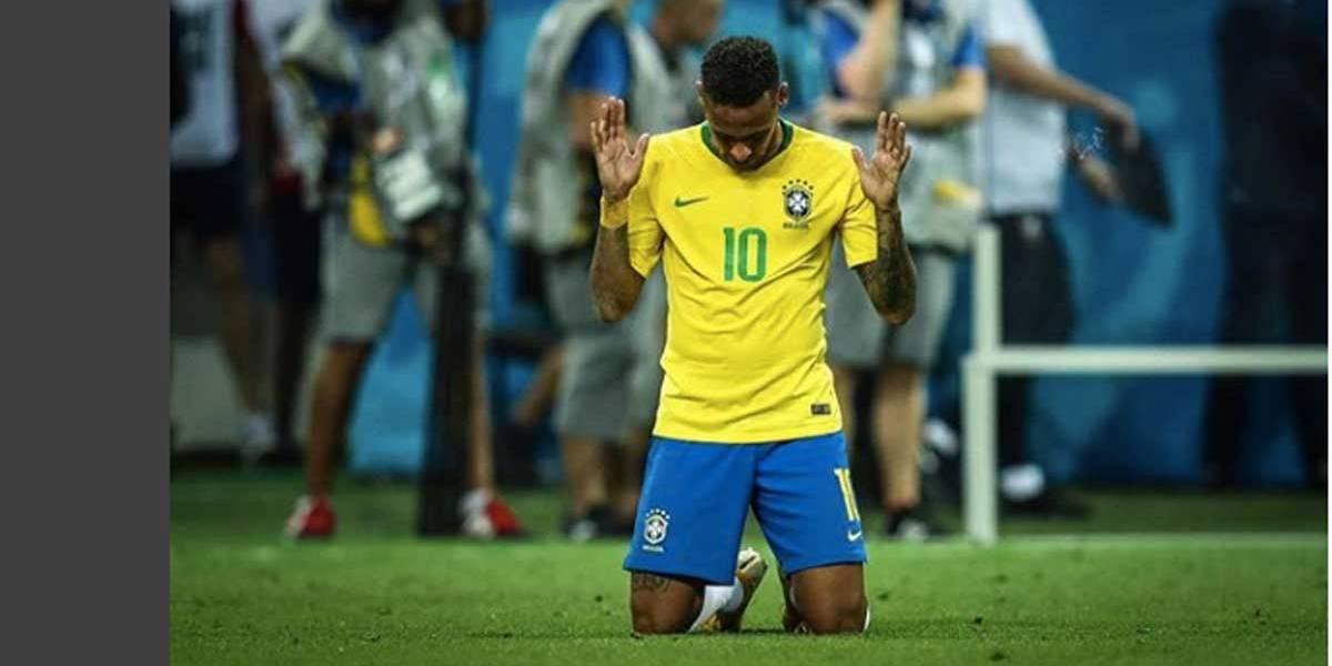 No Instagram, Neymar diz que é o momento mais triste de sua carreira