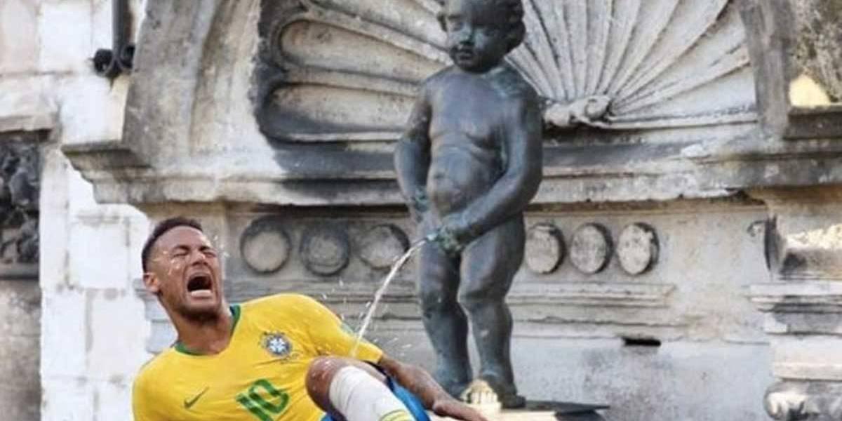 Prefeito de Bruxelas zomba de Neymar com montagem polêmica
