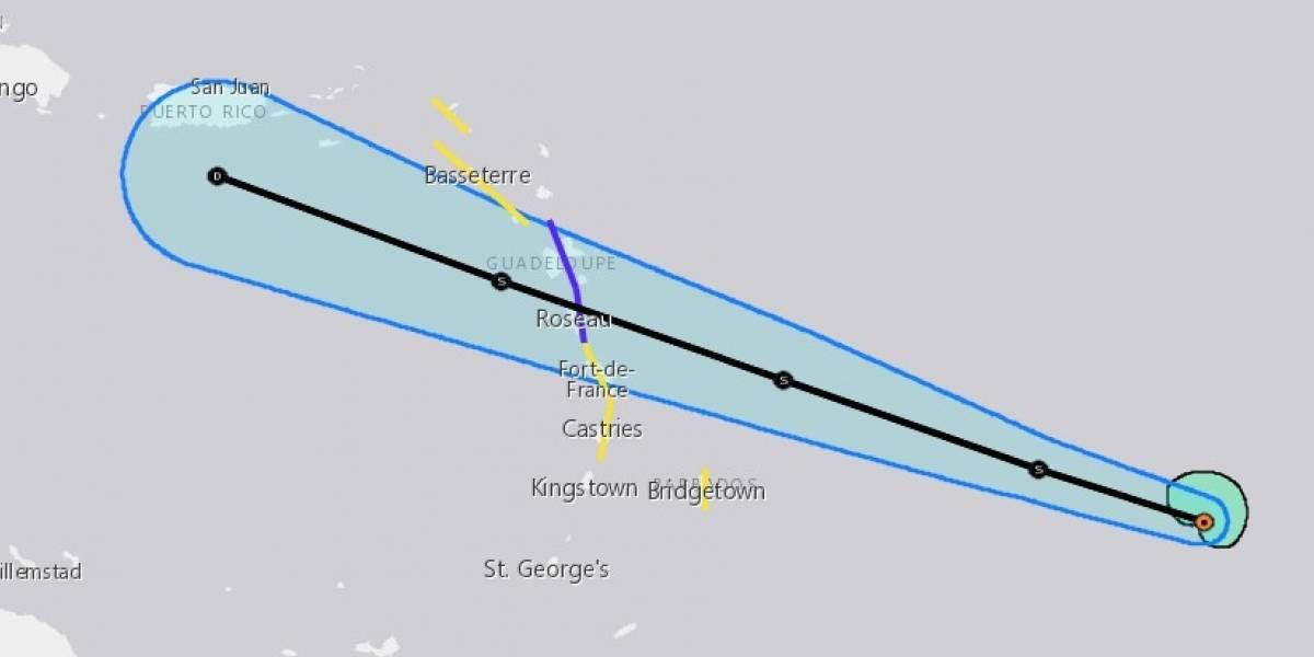 Se espera que Beryl se siga debilitando y pase por Puerto Rico como depresión tropical