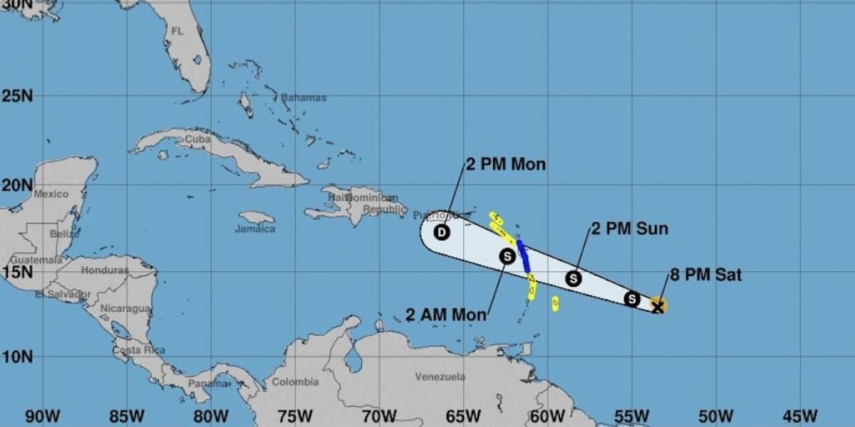 Beryl pasaría por el sur de Puerto Rico como depresión tropical