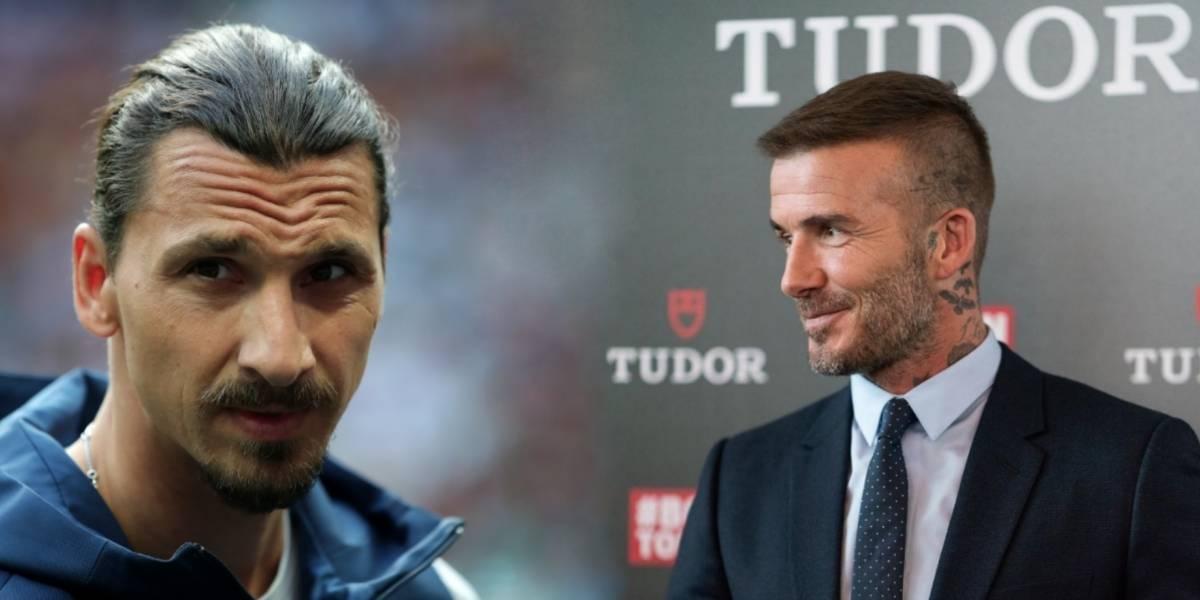 La curiosa apuesta entre Zlatan y Beckham