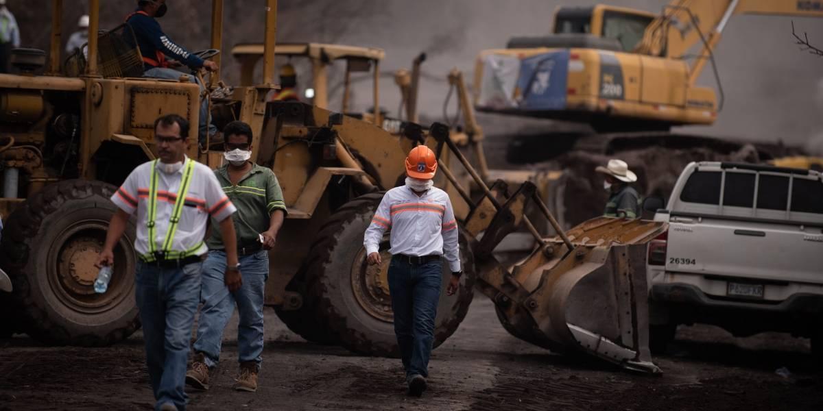 Baja a 329 la cifra de desaparecidos por la erupción del volcán en Guatemala