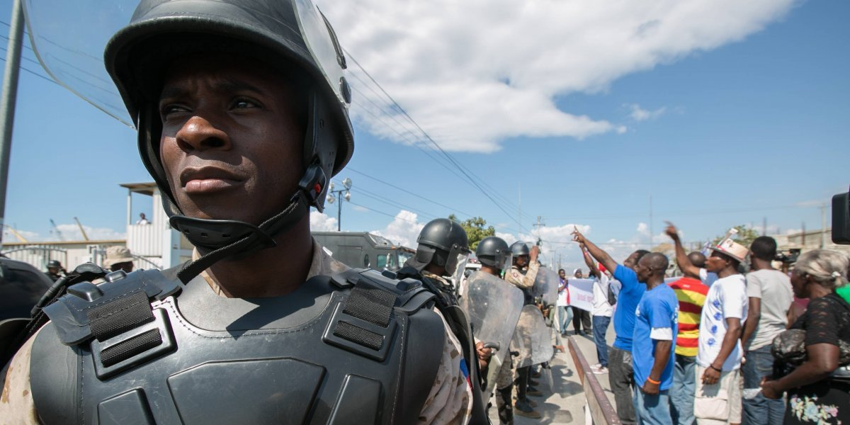 Las protestas siguen en Haití mientras el presidente pide el cese de la violencia