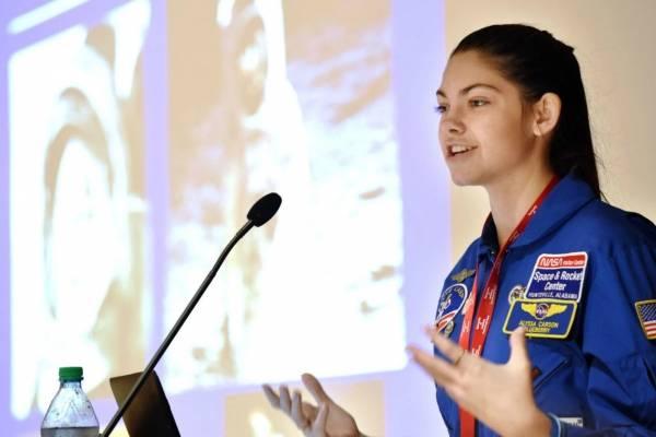 Alyssa Carson, astronauta