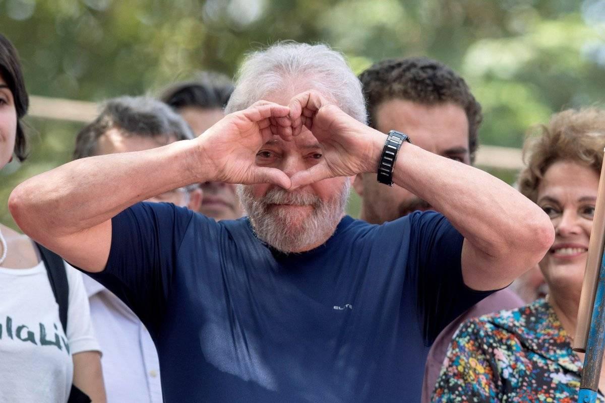 Juez ordena liberación del expresidente de Brasil Lula da Silva