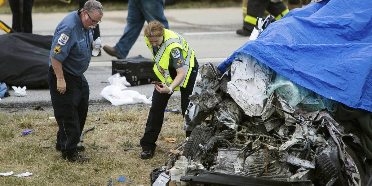 """""""Se fueron todos"""": perdió a su esposo y a sus cuatro hijas en un horrible accidente de tránsito cuando volvían de vacaciones"""