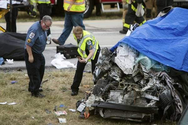 Un hombre y sus cuatro hijas perdieron la vida en un accidente en Townsend, Delaware