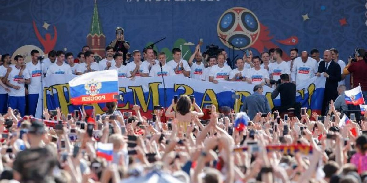 Aficionados muestran gran respaldo a Rusia pese a eliminación en el Mundial