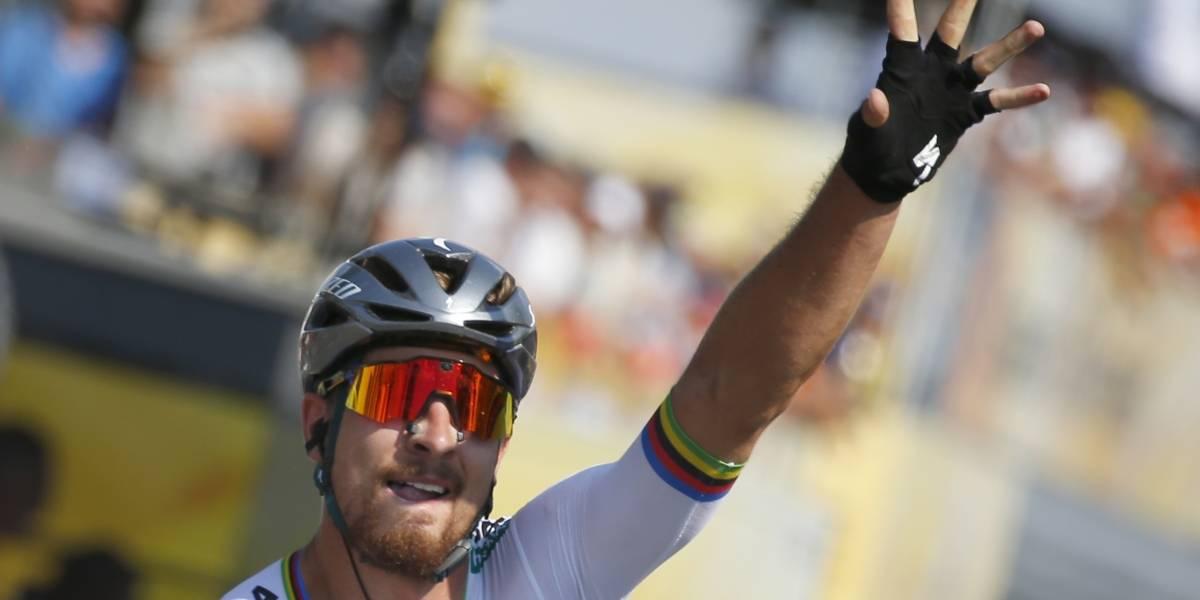 Tour de Francia: Peter Sagan asalta el liderato tras la caída del colombiano Fernando Gaviria