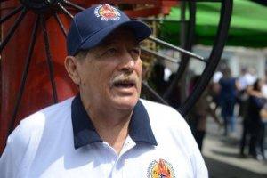 Balmoris Roche, bomberos voluntarios