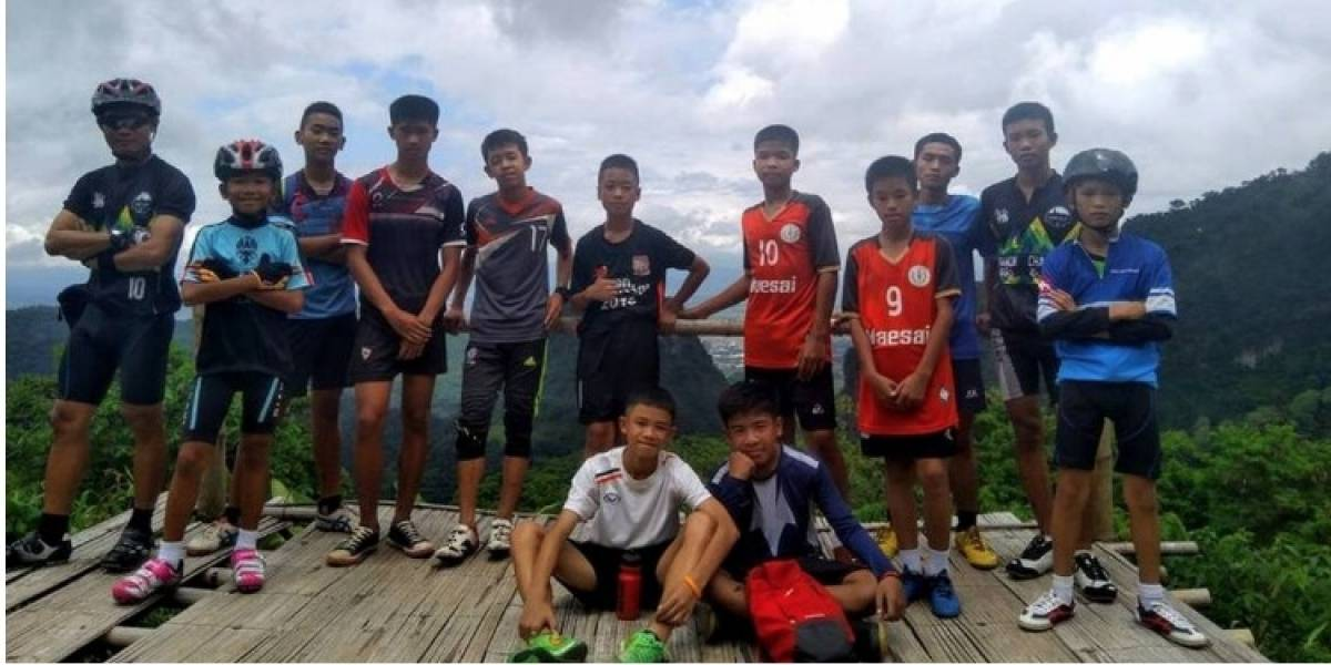 Niños atrapados en Tailandia: Autoridades confirman seis niños rescatados de la cueva