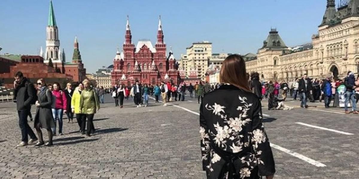 ¿Presentadora colombiana se ganó el odio de los rusos por ruidosa y fiestera?