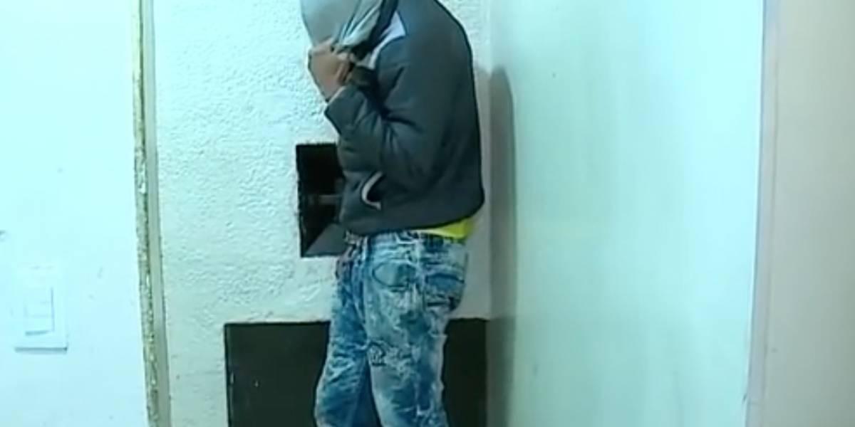 Por usar la misma ropa en los atracos, Policía de Bogotá logró ubicar este delincuente