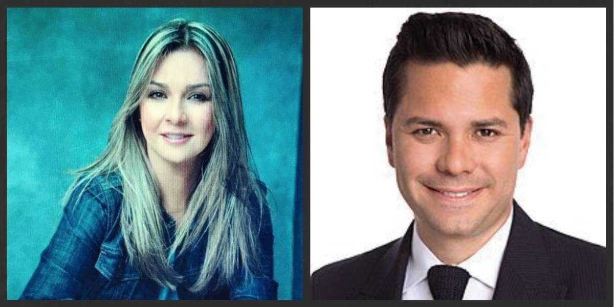 Los audios que causaron tensión entre Luis Carlos Vélez y Vicky Dávila