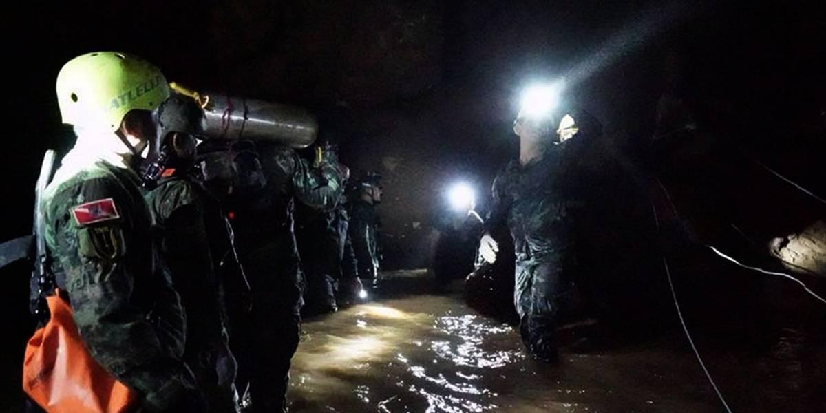 Al menos dos nuevos rescatados de la cueva de Tailandia