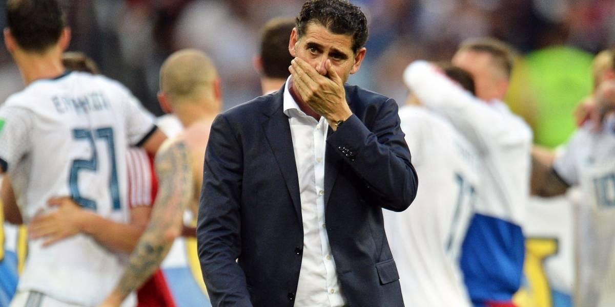 Fernando Hierro dejó de ser el director técnico de España