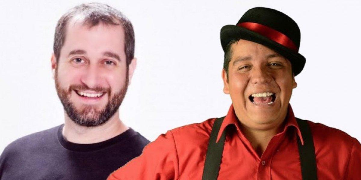 Carlos Sánchez y Alan Saldaña se presentaron a pura risa en Hard Rock Café