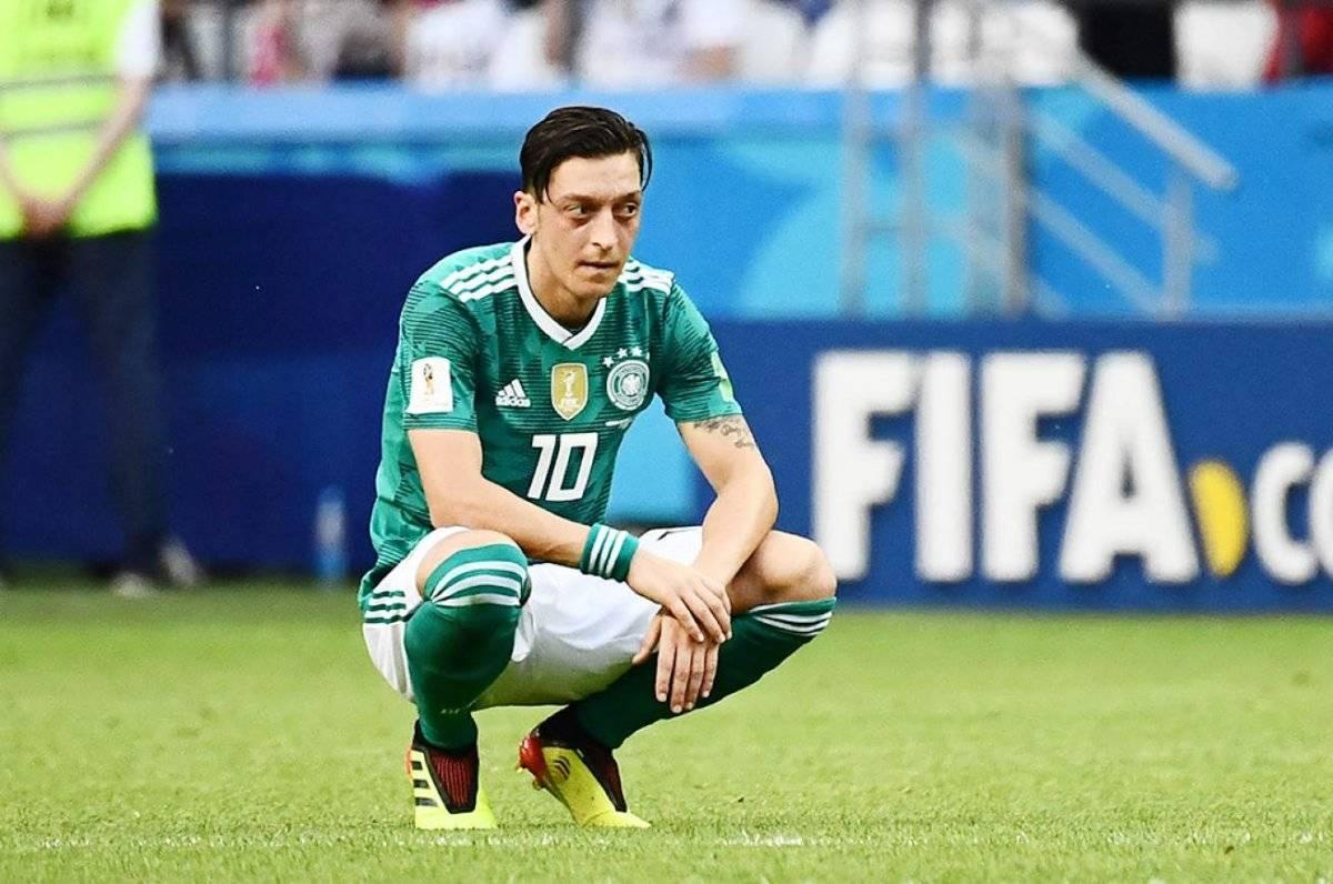 Mesut Özil tuvo un discreto rendimiento en el Mundial