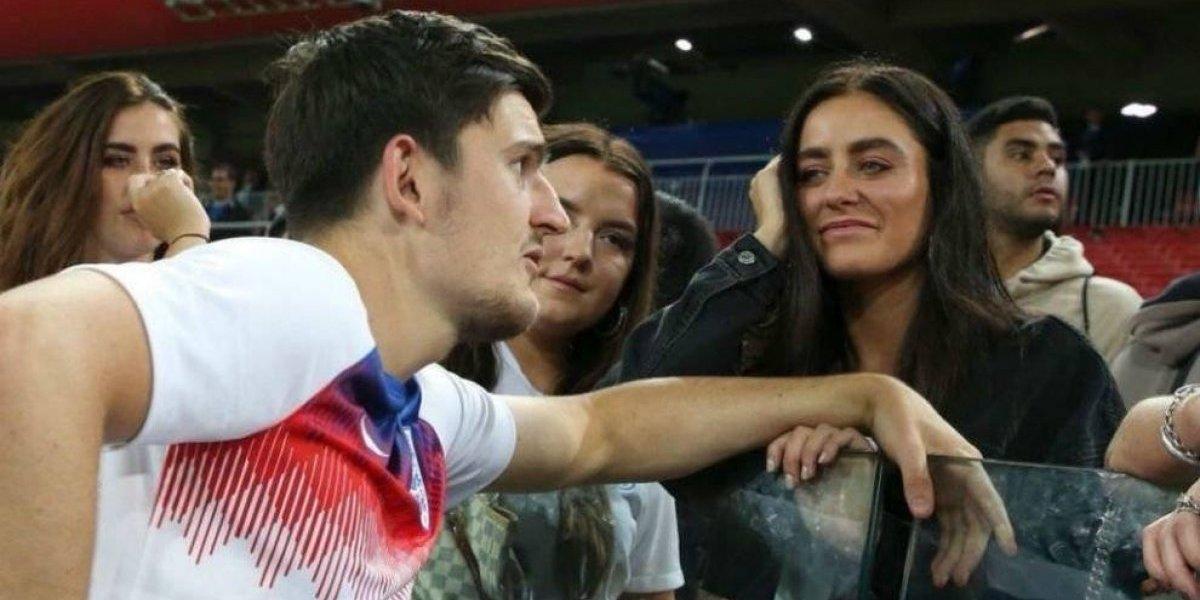 ¿Por qué esta foto del inglés Harry Maguire se volvió viral?