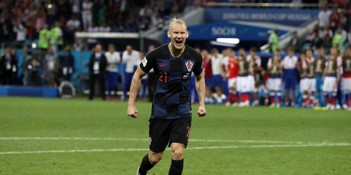 VIDEO: FIFA podría sancionar a Domagoj Vida por polémico festejo