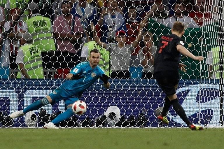 Rakitic cobra y anota el penalti de la victoria para Croacia