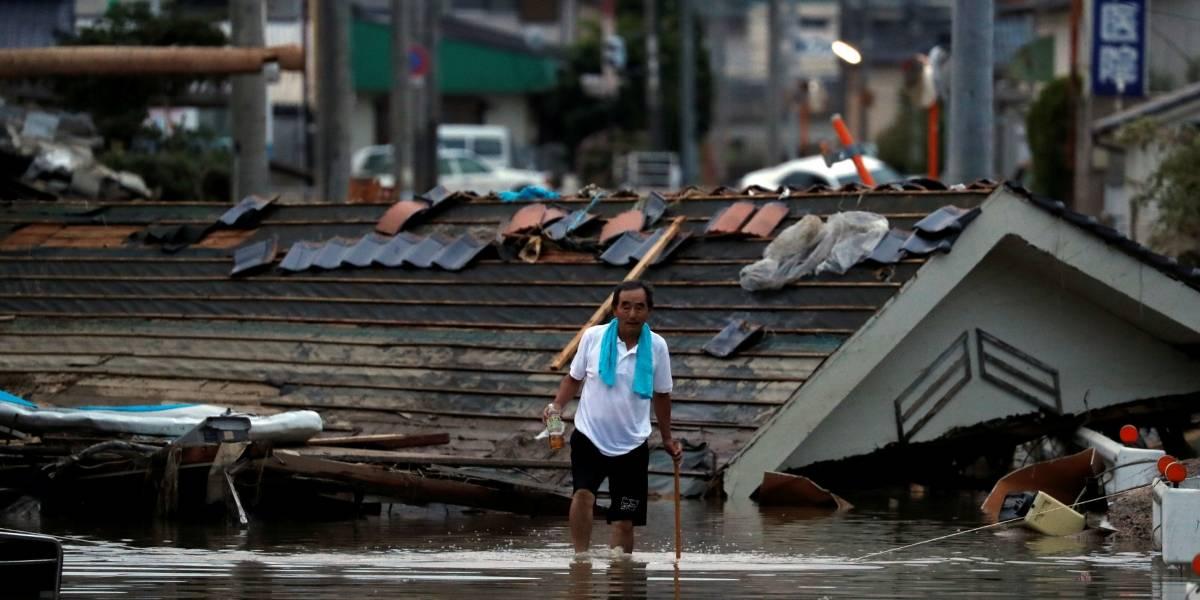 Chuva torrencial deixa rastro de destruição e mais de 80 mortos no Japão